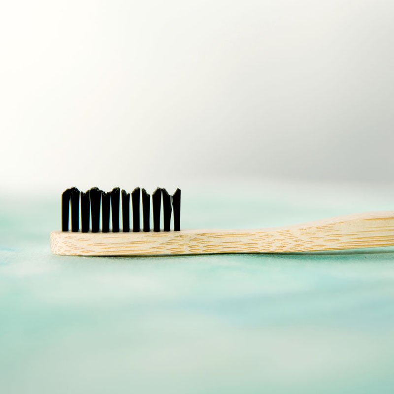 Adults Charcoal Infused Bamboo Toothbrush
