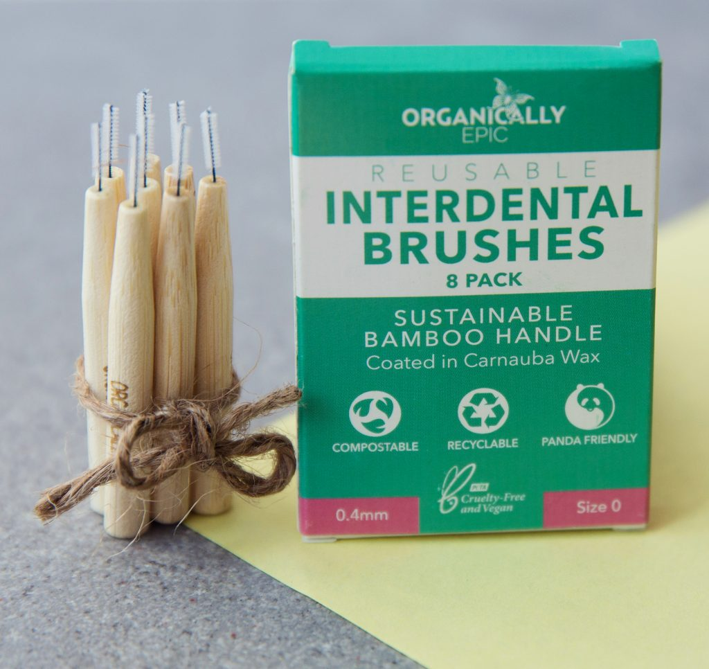 To show the interdentals and their packaging