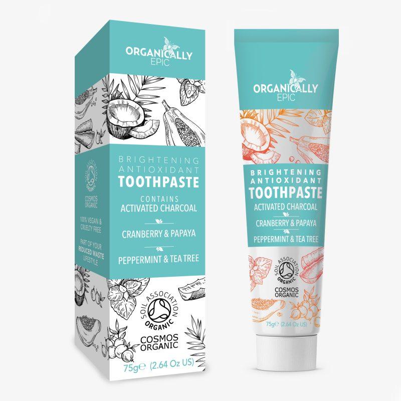Brightening Antioxidant Toothpaste – 75g (2.64 Oz US)